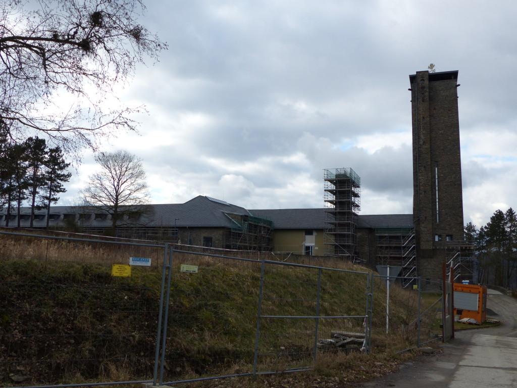 Gebäude auf dem Gelände der NS-Ordensburg Vogelsang