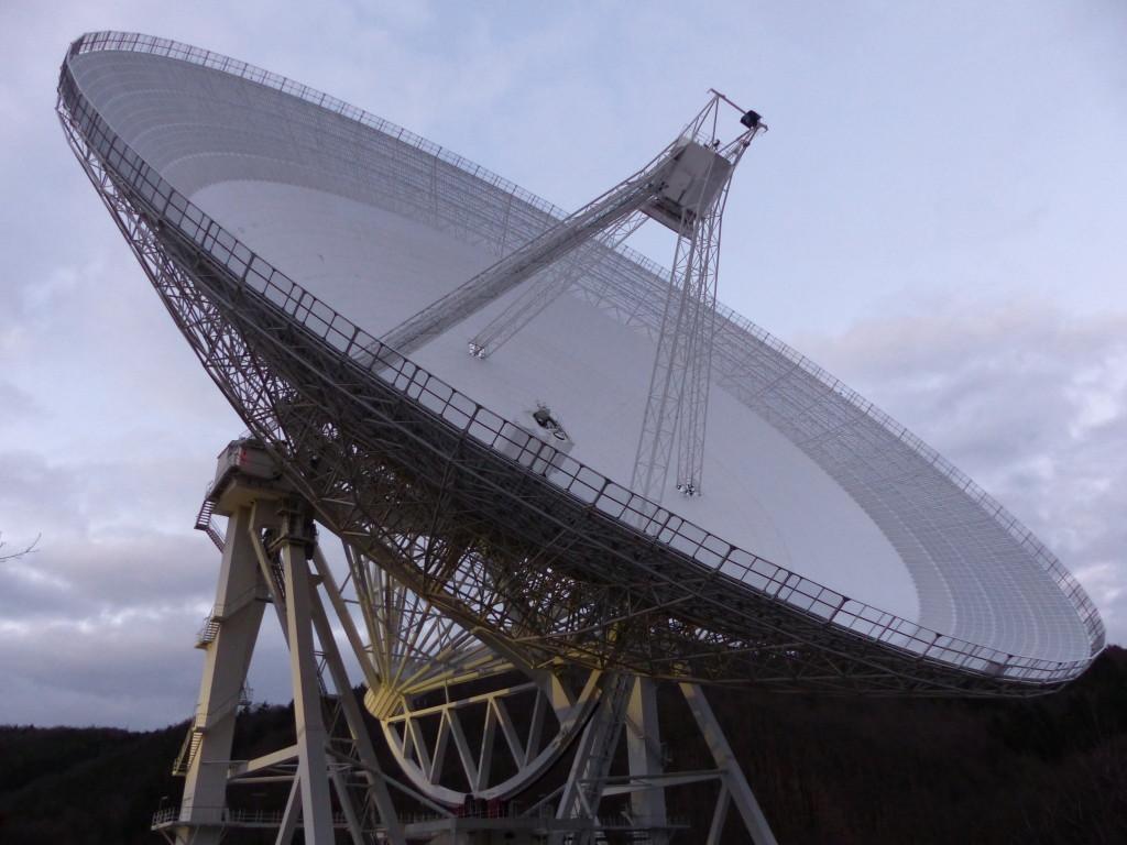 Das 100-Meter-Radioteleskop bei Effelsberg